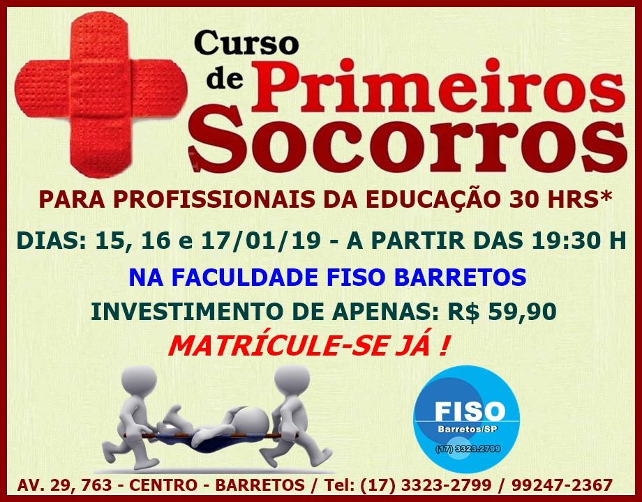 CURSOS EXTENSÃO 2018